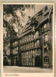 AK / Ansichtskarte Braunschweig Gildehaus Fachwerkhaus 16. Jhdt. Kat. Braunschweig