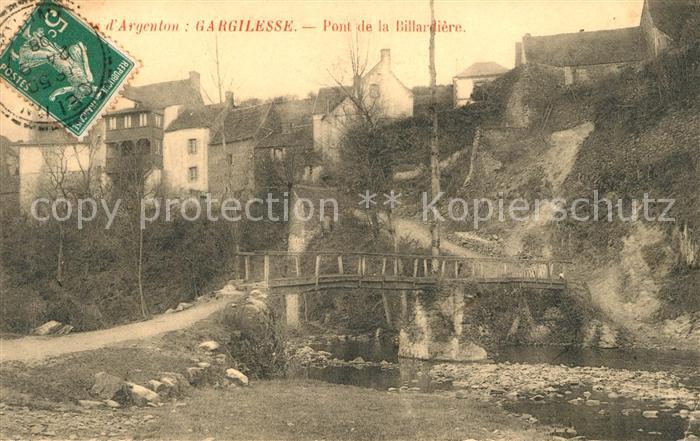 AK / Ansichtskarte Gargilesse Dampierre Pont de la Billardiere Kat. Gargilesse Dampierre