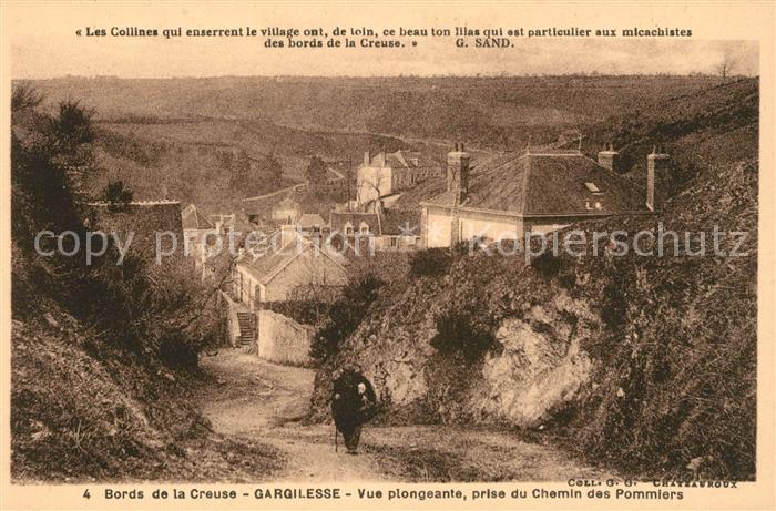 AK / Ansichtskarte Gargilesse Dampierre Bords de la Creuse Kat. Gargilesse Dampierre