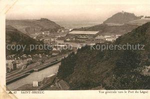 AK / Ansichtskarte Saint Brieuc Cotes d Armor Port du Legue Kat. Saint Brieuc