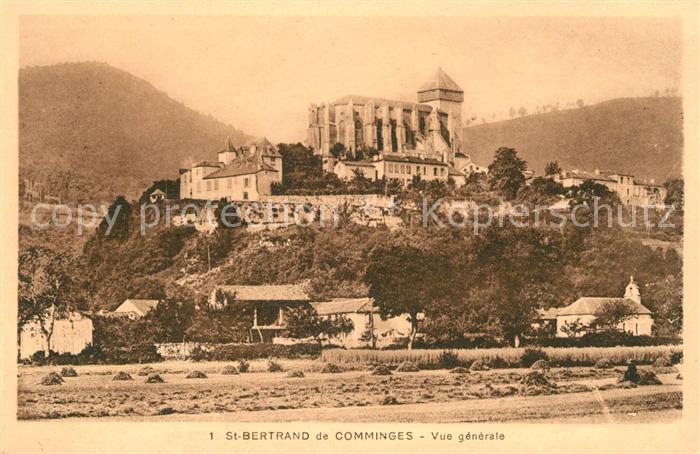 AK / Ansichtskarte Saint Bertrand de Comminges Plage Eglise Kat. Saint Bertrand de Comminges