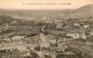 AK / Ansichtskarte Le Puy en Velay Fliegeraufnahme Kat. Le Puy en Velay
