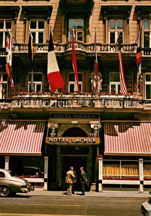 AK / Ansichtskarte Wien Hotel Sacher Kat. Wien
