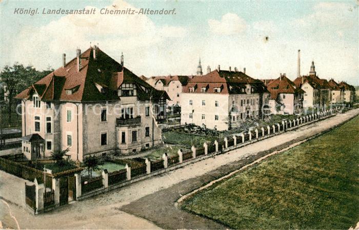 AK / Ansichtskarte Altendorf Chemnitz Koenigliche Landesanstalt Kat. Chemnitz