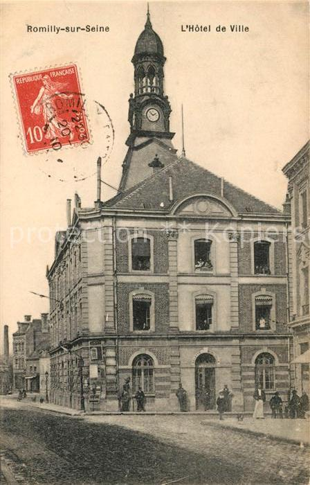 AK / Ansichtskarte Romilly sur Seine Hotel de Ville Kat. Romilly sur Seine