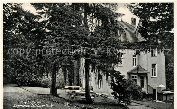 AK / Ansichtskarte Friedrichroda Sanatorium Thueringer Wald Kat. Friedrichroda