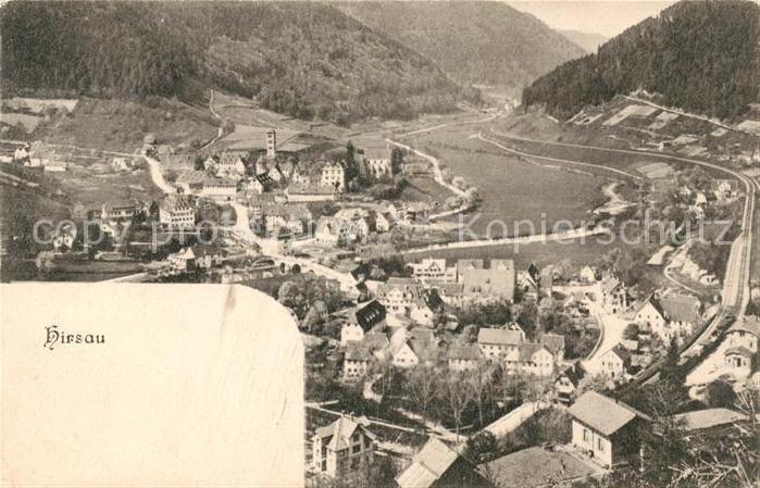AK / Ansichtskarte Hirsau Panorama Blick ins Tal Kat. Calw