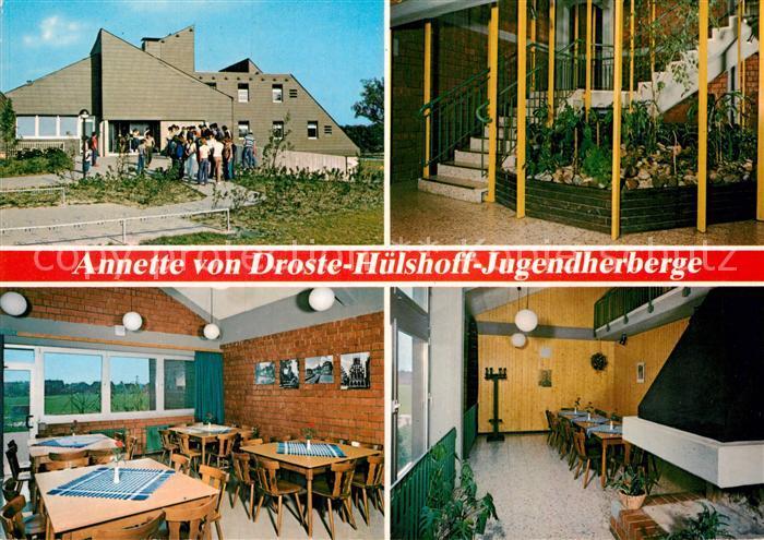 AK / Ansichtskarte Nottuln Annette von Droste Huelshoff Jugendherberge Kat. Nottuln
