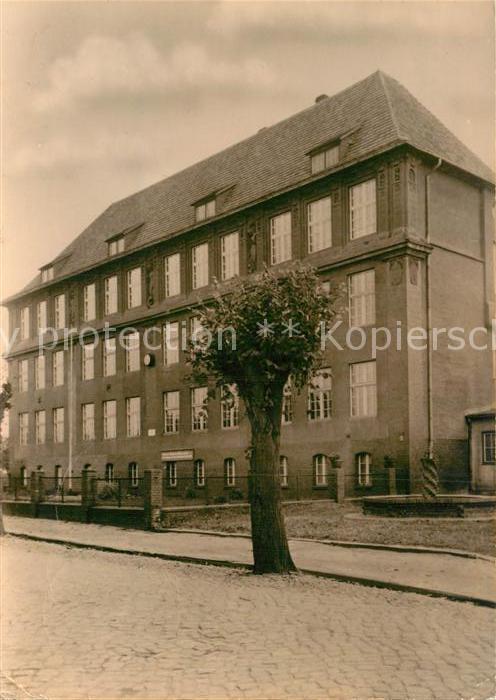 AK / Ansichtskarte Calau Polytechnische Oberschule Kat. Calau