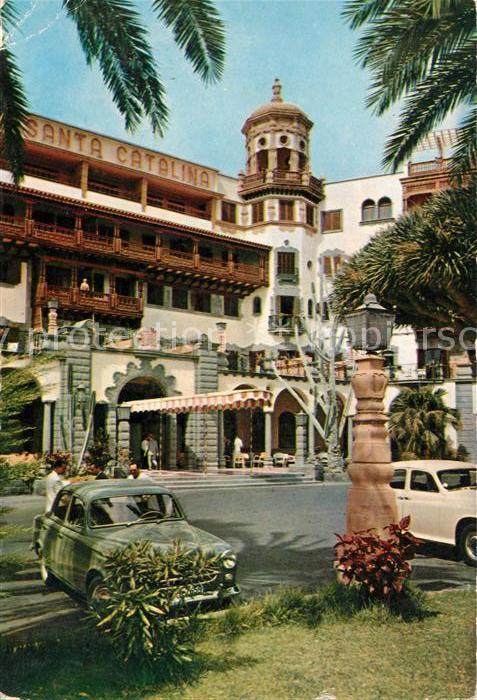 Ak Ansichtskarte Las Palmas Gran Canaria Hotel Santa Catalina Kat