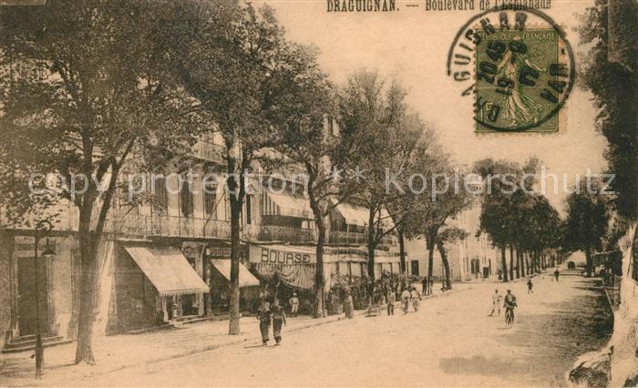 AK / Ansichtskarte Draguignan Boulevard de l Esplanade Kat. Draguignan