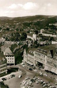 AK / Ansichtskarte Siegen Westfalen Marktplatz mit Unterem Schloss und Unterstadt Kat. Siegen