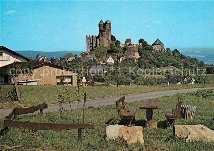 AK / Ansichtskarte Greifenstein Hessen Burg Greifenstein Kat. Greifenstein
