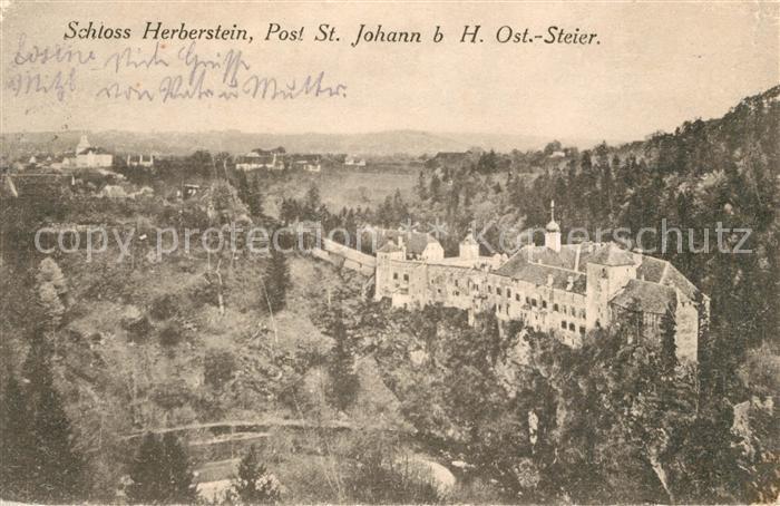 AK / Ansichtskarte Johann am Tauern St Schloss Herberstein Kat. St Johann in der Haide Steiermark