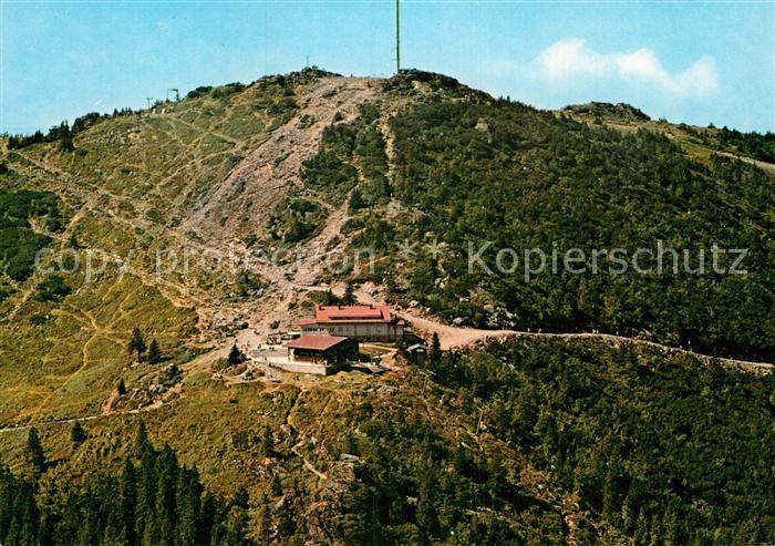 AK / Ansichtskarte Bayerisch Eisenstein Gr. Arber Schutzhaus Bergstation Kat. Bayerisch Eisenstein