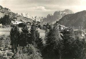 AK / Ansichtskarte Tiers Dolomiten mit Rosengarten Kat. Italien