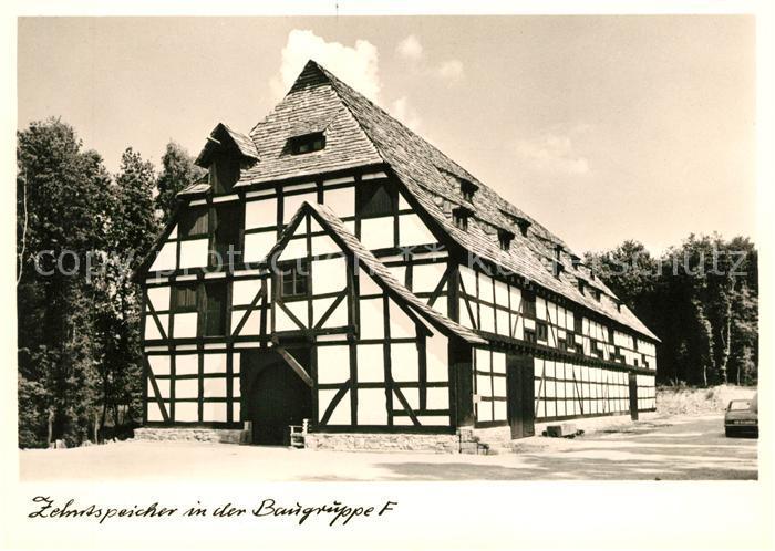 AK / Ansichtskarte Neu Anspach Zehntspeicher von Trendelburg im Hess Freilichtmuseum Kat. Neu Anspach