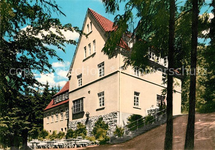 AK / Ansichtskarte Oerlinghausen Bielefelder Naturfreundehaus Toensberg  Kat. Oerlinghausen