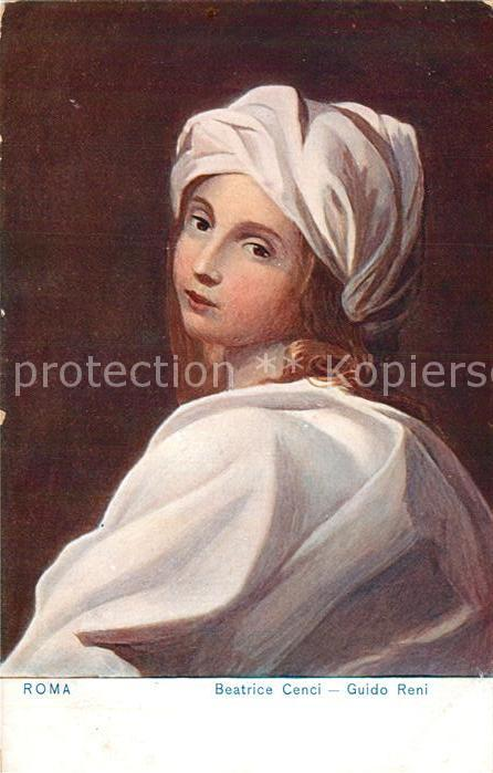 AK / Ansichtskarte Kuenstlerkarte Guido Reni Beatrice Cenci  Kat. Kuenstlerkarte