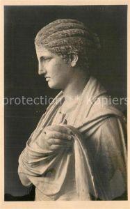 AK / Ansichtskarte Skulpturen Statue de Femme Delos  Kat. Skulpturen
