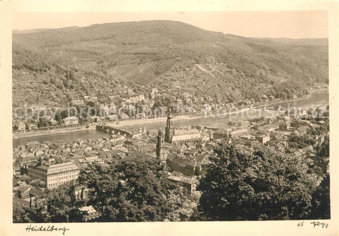 Fotografie Heidelberg ak ansichtskarte foto popp nr 65 heidelberg fotografie nr