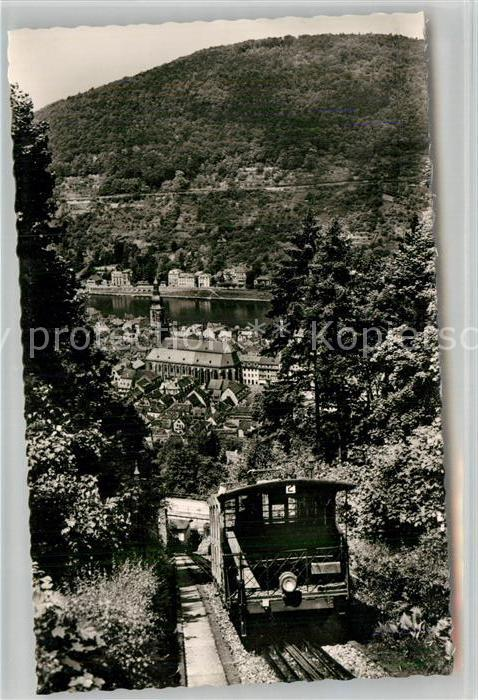 AK / Ansichtskarte Bergbahn Heidelberg  Kat. Bergbahn