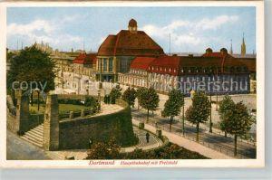 AK / Ansichtskarte Dortmund Hauptbahnhof Freistuhl Kat. Dortmund