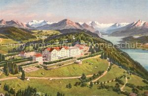 AK / Ansichtskarte Felsenegg Berghotel aus der Vogelschau Alpenpanorama Kat. Felsenegg