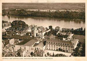 AK / Ansichtskarte Eltville Rhein Luftbild der Sektkellerei Matheus Mueller Kat. Eltville am Rhein