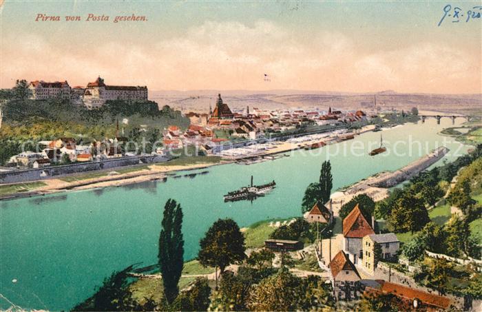 AK / Ansichtskarte Pirna Panorama Kat. Pirna