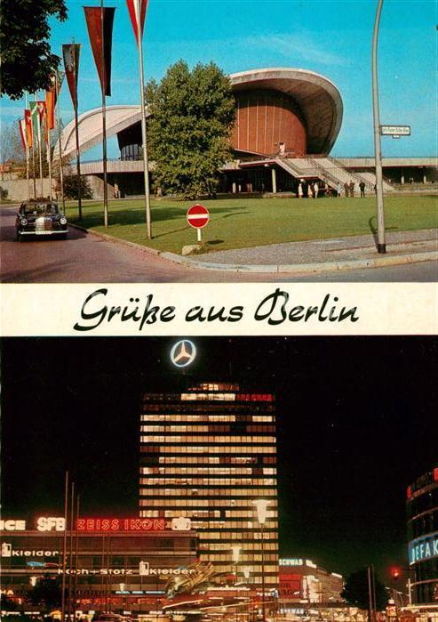 AK / Ansichtskarte Berlin Kongresshalle Europa Center Haus der Nationen Kat. Berlin