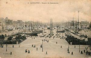 AK / Ansichtskarte Le Havre Bassin du Commerce Port Kat. Le Havre