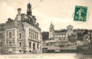 AK / Ansichtskarte Barentin La Mairie et l Eglise Kat. Barentin