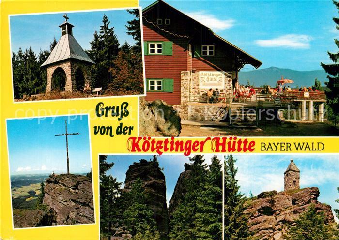 AK / Ansichtskarte Koetzting Koetztinger Huette Kaitersberg  Kat. Bad Koetzting