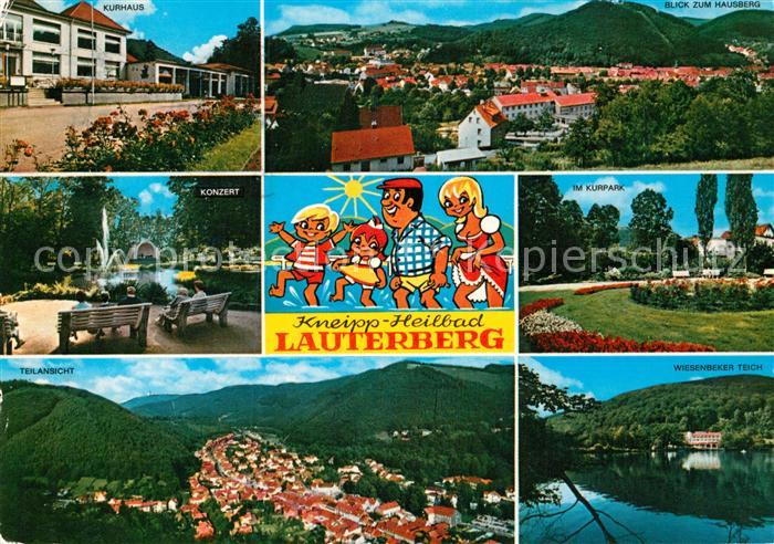 AK / Ansichtskarte Bad Lauterberg Wiesenbeker Teich Hausberg Kurhaus  Kat. Bad Lauterberg im Harz