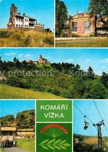 AK / Ansichtskarte Komari Vizka Sessellift Hotel Restaurant