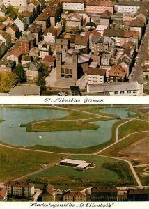 AK / Ansichtskarte Giessen Lahn St. Albertus Kindertagesstaette St. Elisabeth Kat. Giessen