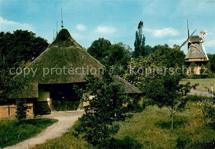AK / Ansichtskarte Bad Zwischenahn Dwersack und Muehle im Freilandmuseum Kat. Bad Zwischenahn