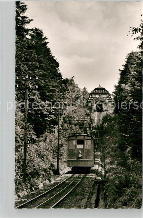AK / Ansichtskarte Bergbahn Koenigstuhl Heidelberg  Kat. Bergbahn