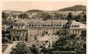 AK / Ansichtskarte Oberschlema Erzgebirge Radiumbad Kurhaus Kat. Bad Schlema