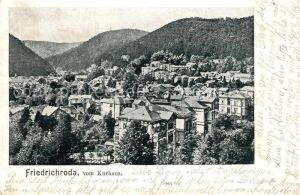 AK / Ansichtskarte Friedrichroda Panorama Blick vom Kurhaus Kat. Friedrichroda