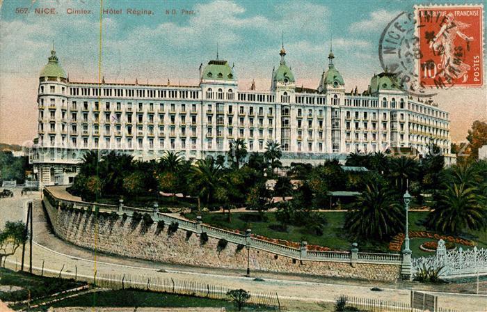 AK / Ansichtskarte Cimiez Hotel Regina Kat. Nice