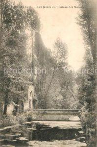 AK / Ansichtskarte Argenteuil Val d Oise Les fosses du Chateau des Marais Kat. Argenteuil