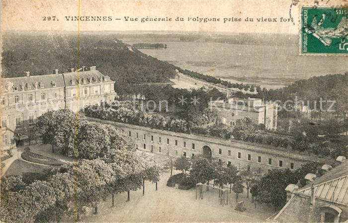 AK / Ansichtskarte Vincennes Vue generale du Polygone prise du vieux fort Kat. Vincennes