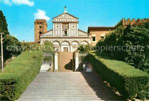 AK / Ansichtskarte Firenze Toscana Basilica S. Miniato al Monte  Kat. Firenze