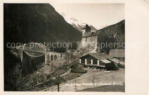 AK / Ansichtskarte Tobadill Tirol Schloss Wiesberg Trisannabruecke Kat. Tobadill