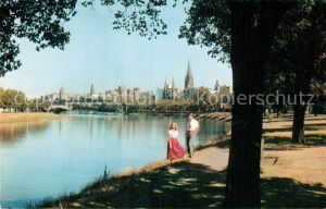 AK / Ansichtskarte Melbourne Victoria Yarra River Pan American deluxe President Kat. Melbourne