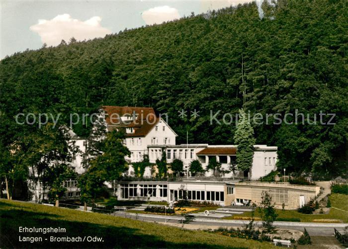 AK / Ansichtskarte Langen Brombach Erholungsheim Kat. Brombachtal