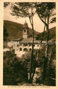 AK / Ansichtskarte Notre Dame de Laghet Le Monastere