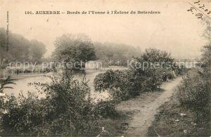 AK / Ansichtskarte Auxerre Bords de l Yonne a l Ecluse du Batardeau Kat. Auxerre